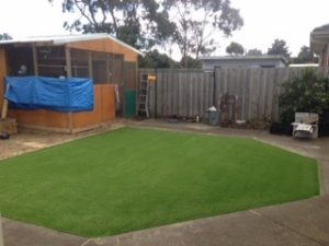 Synthetic Grass - Back Yard Bayside Suburbs, Melbourne