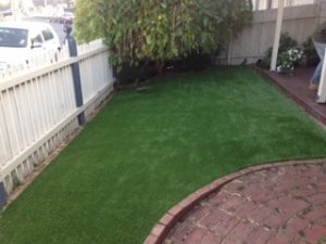 Synthetic Grass - Front Yard Inner City Suburbs, Melbourne