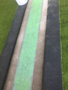 Synthetic Grass Joined with Specialised Adhesive - Peninsula Synthetic Grass