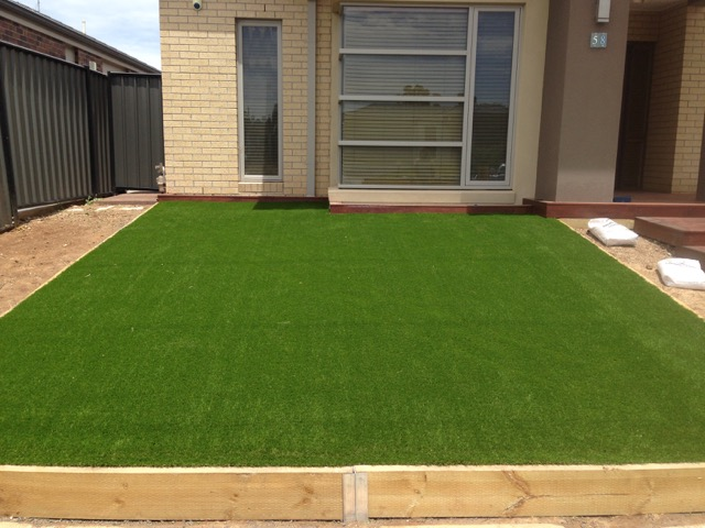 Synthetic Grass Installed to perfection in Derrimut front yard