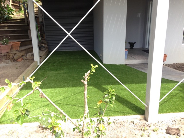 Completed Synthetic Grass Install - McCrae