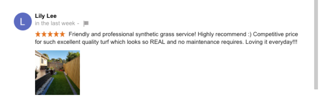 Synthetic Grass Business Review - Ringwood