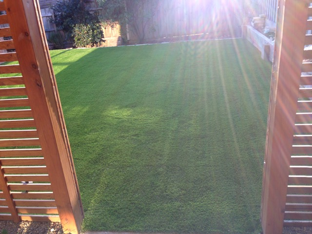 Synthetic grass installed in Mount Martha