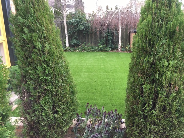 Synthetic Grass Laid to Perfection - Canterbury Installation - Peninsula Synthetic Grass