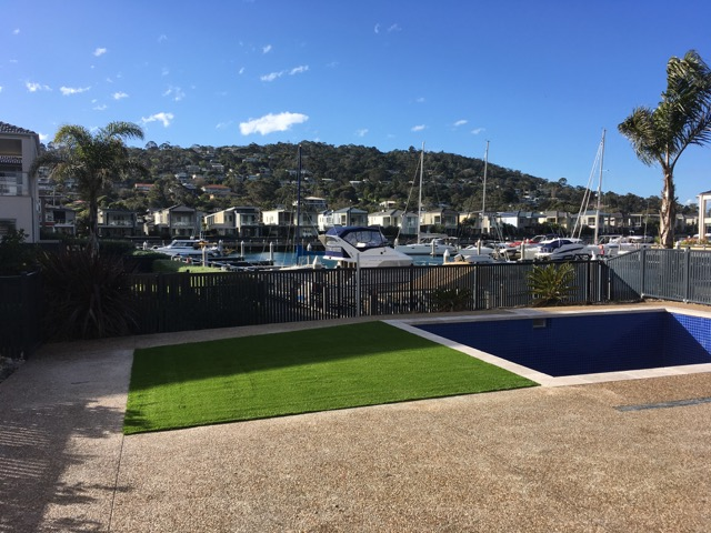 Martha Cove - 40mm Lighter Green Plush Pile (New Build) - Peninsula Synthetic Grass Install