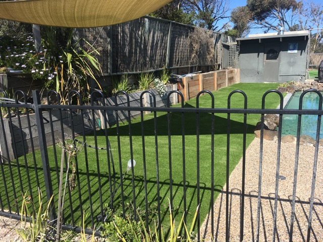 Rye - Back yard renovation 35mm Pile Height - Peninsula Synthetic Grass