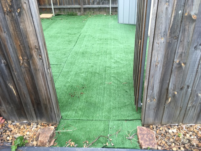 Synthetic Grass - rip up and reinstall