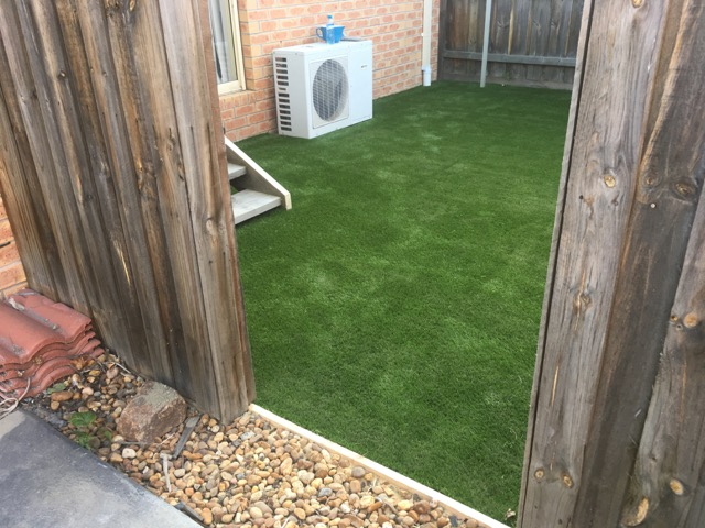 Peninsula Synthetic Grass - Rip up and do the job right!