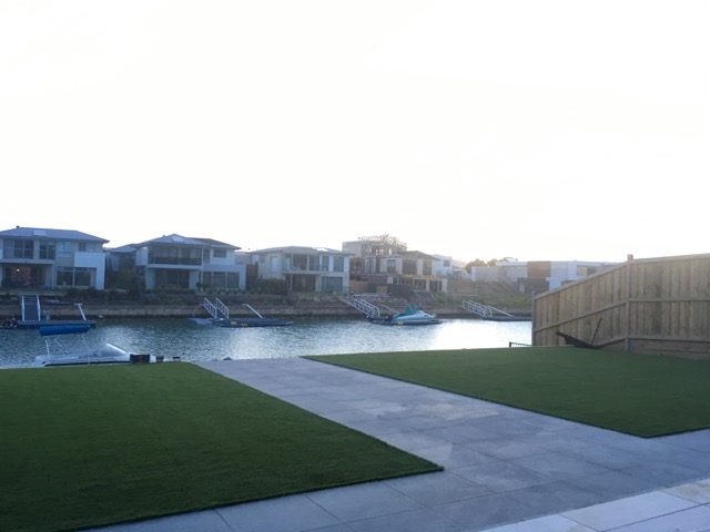 40mm Synthetic Grass Laid in Martha Cove, Safety Beach