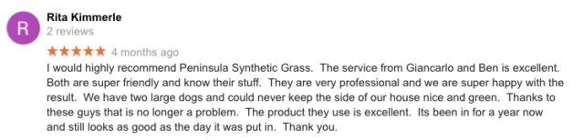 Malvern East - Synthetic Grass Review
