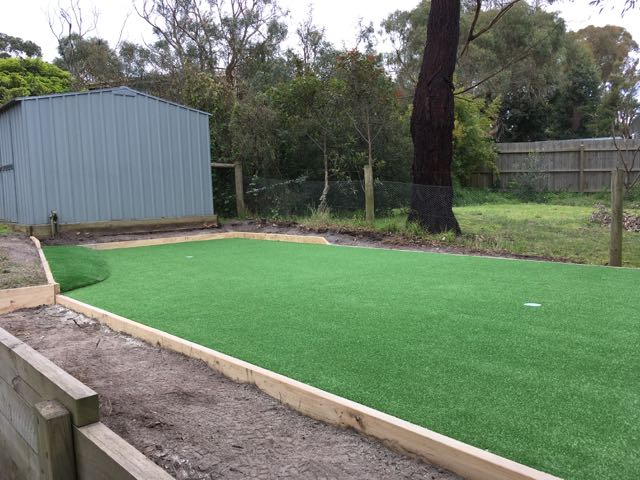 Synthetic putting green installed in Somers